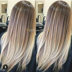 HER HAIR! | THE PERFECT OMBRE | For more hair inspo visit www.dontsweatthestewardess.com