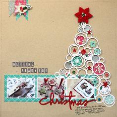 Mira these cutouts! Love it. From FSN: Reto Diciembre: ¡Navidad!