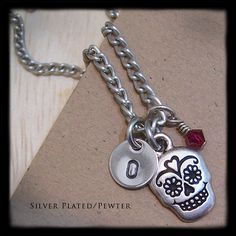 Personalized Jewelry  Hand Stamped Necklace  by MadisonCraftStudio, $24.00