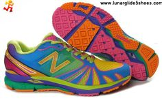 2013 New New Balance NB MR890RGO Green rainbow For Women running shoes For Sale