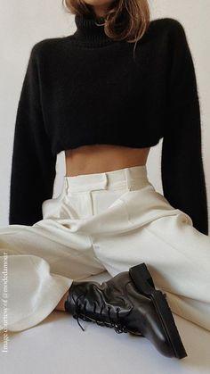 Winter Fashion Outfits, Look Fashion, Fall Outfits, Womens Fashion, Fashion Trends, Outfits With Boots, Fashion 2020, Looks Chic, Mode Inspiration