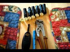 Removing brass from shotgun cartridges - YouTube