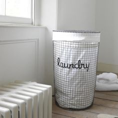 Our Lavanderie laundry basket has a gorgeous vintage finish to it. We've managed to make a laundry basket look sexy. Bathroom Storage Units, Vintage Laundry, Wire Laundry Basket, Car Themed Bedrooms, Comfy Sofa, Washing Bins, Laundry, Beautiful Bedding, Laundry Bin