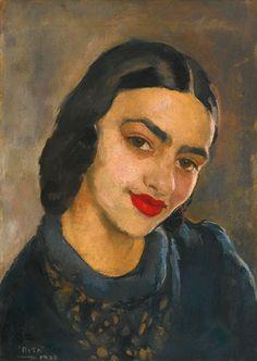 Amrita Sher-Gil, Untitled (Self-Portrait). 1933