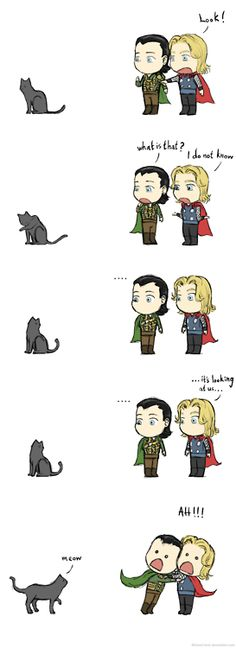 Thor and Loki do not know...