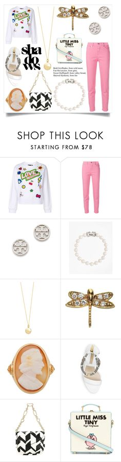 """Music is my escape"" by emmamegan-5678 ❤ liked on Polyvore featuring Love Moschino, Closed, Tory Burch, Brooks Brothers, blanca monrós gómez, Loquet, Brigid Blanco, Michael Kors, Salvatore Ferragamo and Olympia Le-Tan"