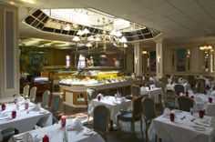 The Restaurant at the Croydon Park Hotel in East Croydon Surrey England Romantic Dinner For Two, Romantic Dinners, Croydon, Park Hotel, Great Recipes, Restaurant, Meals, Table Decorations, Dining