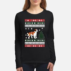 """100% Printed in the U.S.A - Ship Worldwide  HOW TO ORDER?  1. Select style and color 2. Select size and quantity 3. Click to """"Buy Now"""" button 4. Enter shipping and billing information TIP: SHARE it with your friends, order together and save on shipping. Christmas Dog, Christmas Humor, Funny Christmas Sweaters, Color 2, Graphic Sweatshirt, T Shirt, 2 Colours, Funny Dogs, Buy Now"""