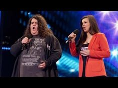 I've pinned this a few times, but am so touched by it ... : ) srf - Opera duo Charlotte & Jonathan - Britain's Got Talent 2012 audition - UK...