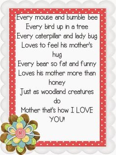 All About Our Mother's Day Celebration {Mother's Day Flip Books and a FREEBIE}