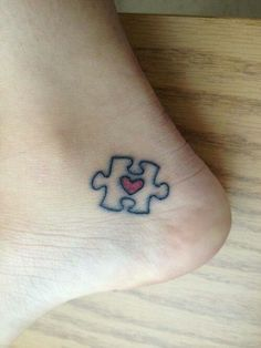 Autism tattoo - different placement though