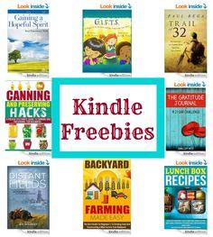 Kindle Freebies!