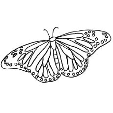 coloring pages painted lady butterfly | Butterfly Coloring Page For Kids | dana | Pinterest ...