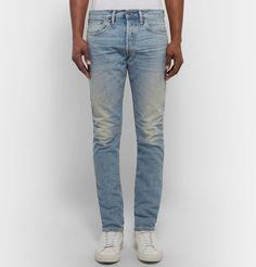 Though <a href='http://www.mrporter.com/mens/Designers/Simon_Miller'>Simon Miller</a>'s 14oz. Japanese denim 'M001' jeans may seem stiff at first, they are designed to break in over time. They'll also continue to soften and whisker in all the right places. Make them the foundation to cool weekend looks.