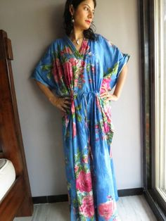 Cozy Kaftan Style made From E2 Fabric Pattern