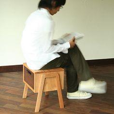 歩き出しそうな椅子。 トコトコスツール - まとめのインテリア / デザイン雑貨とインテリアのまとめ。