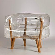 """Batizada de """"Anda"""" a poltrona foi criada para o projeto final da designer Tehila Guy, na Bezalel Academy of Art and Design de Jerusalém."""