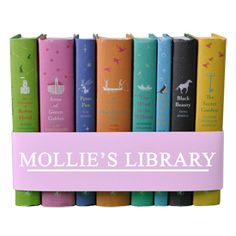 Customized Set of Puffin Books with Child's Name