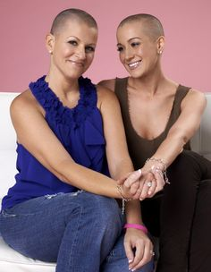 Kellie Pickler shaved her head...  The country music star's best friend, Summer Holt Miller, was diagnosed with breast cancer in June. So in support of her and to promote breast cancer awareness, she shaved her head. What an awesome friend!!!