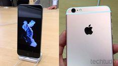 iPhone 6S tem mais memória RAM e opção de acabamento em ouro rosa (Foto: Carolina Machado / TechTudo)
