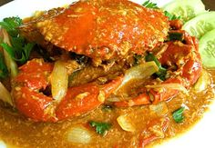 hmm...Kepiting saos padang (crab with chili sauce) #Indonesian recipes #Indonesian cuisine #Asian recipes http://indostyles.com