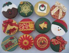 ChristmasCupcakes4  TechJost cakepins.com
