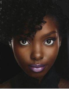 Dark skinned women are beautiful lipstick for dark skin, purple lipstick, dark skin makeup Dark Skin Makeup, Dark Skin Beauty, Beautiful Black Women, Beautiful Eyes, Beautiful People, Maquillage Black, Foto Art, Ebony Beauty, Brown Skin