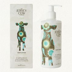 jersey cow uplift body lotion - such adorable packaging!
