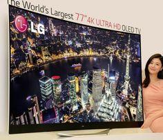 LG ULTRA HD CURVED OLED TV (Modell 77EC9800)