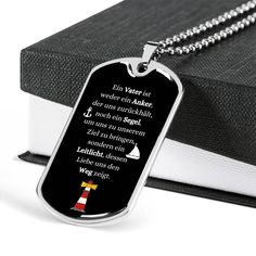 VATER GESCHENK | Vater Treasures | German Gift Ideas | Vater Engraved Jewelry | Personalized Necklace | Vater Christmas Ideas Engraved Dog Tags, Personalized Dog Tags, Engraved Gifts, Sister In Law Gifts, Gifts For Father, Mother Gifts, Engraved Necklace, Dog Tag Necklace, Funeral Gifts