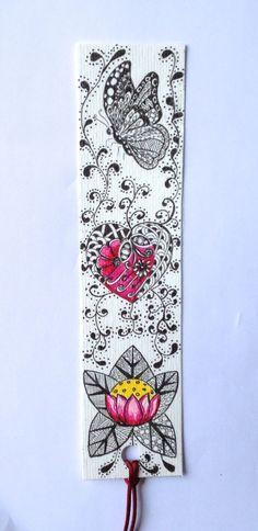 zentangle bookmark