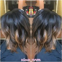 I'm confused by all the color hair photos. Is this bayalage or ombre??