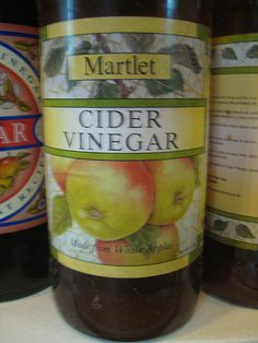 Martlet cider vinegar http://www.ukcider.co.uk/blog/apple-cider-vinegar