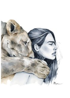 I Got You Art Watercolor, Bright Art, Tiger Art, Human Art, Art Drawings Sketches, Art Sketchbook, Aesthetic Art, Cute Art, Illustration Art