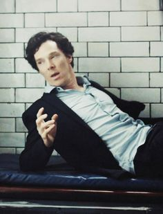 Hungover Sherlock !!