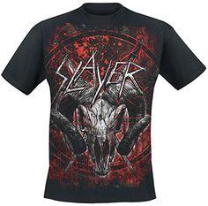 Slayer Mongo Goat T-Shirt schwarz 5XL