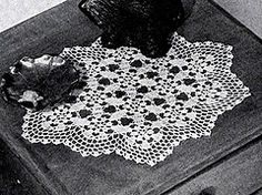 Ravelry: Snowflake Doily #7654 pattern by The Spool Cotton Company