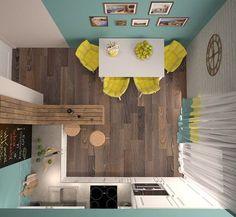 """Яркая кухня в """"Марселе"""". Кухня"""