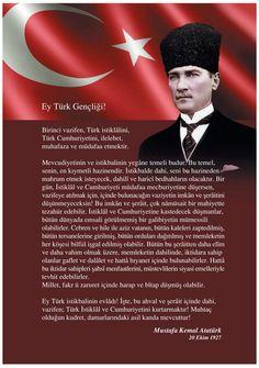 Mustafa Kemal Atatürk'ün Gençliğe Hitabesi (20 Ekim 1927)