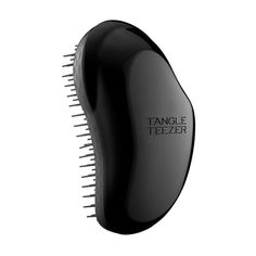 Tangle Teaser The Original Detangling Brush  Perfect for all hair types, this flexible-bristle brush removes all tangles in wet or dry hair without all the breakage.  The Original Detangling Hairbrush In Black, Tangle Teezer $15