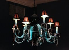 Adam Wallacavage chandelier