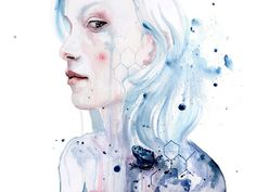 Poison by Agnes Cecile - Prints now available at Eyes On Walls - http://www.eyesonwalls.com/collections/new-releases #agnescecile #art