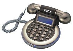 Pumpkin shape old-fashioned telephone