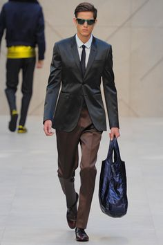 Burberry Prorsum Spring 2013 Menswear Collection Slideshow on Style.com