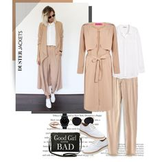 A fashion look from September 2015 featuring H&M blouses, Boohoo coats and Australia Luxe Collective oxfords. Browse and shop related looks.