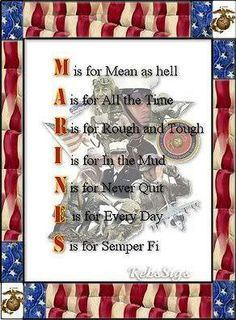 Except my brother is sweet❤️ … Marine Quotes, Usmc Quotes, Military Quotes, Military Mom, Military Service, Marine Sister, Once A Marine, My Marine, Us Marine Corps