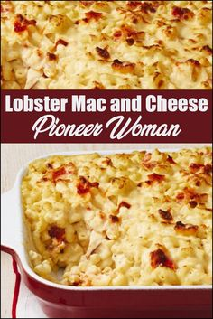 Mac And Cheese Dinner Recipe, Homemade Mac And Cheese Recipe Baked, Lobster Mac N Cheese Recipe, Seafood Mac And Cheese, Best Mac N Cheese Recipe, Mac And Cheese Casserole, Best Mac And Cheese, Lobster Recipes, Seafood Recipes