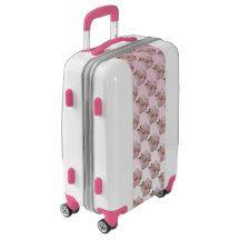 Pink Sakura Cherry Blossom Flower Luggage