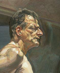 Lucian Freud. Self-portrait.