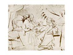 Jacob at Isaac's Bedside, 1913 Giclee Print by Rembrandt van Rijn at Art.com